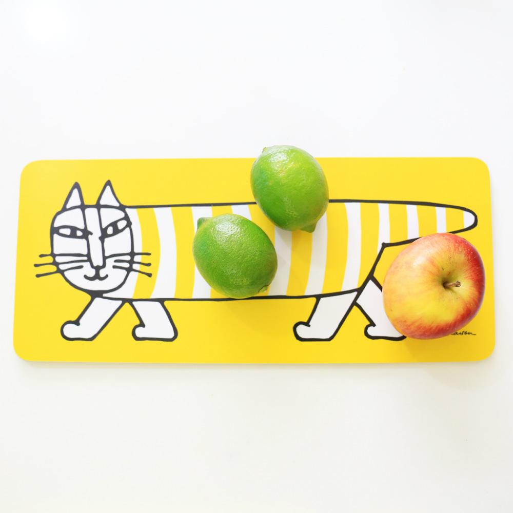 Lisa Larson|Mikey白樺木砧板/餐墊 (黃)