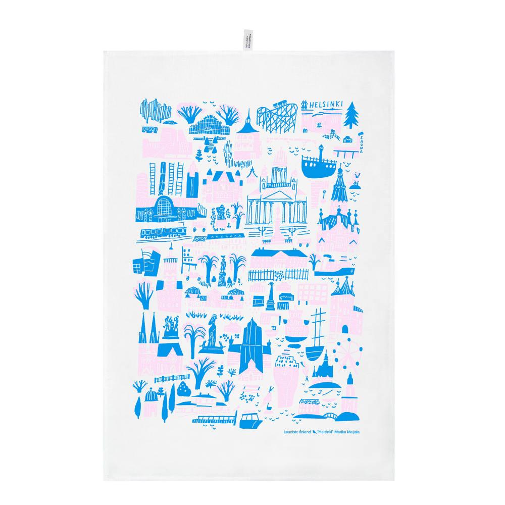 Kauniste|棉麻擦巾 (赫爾辛基)