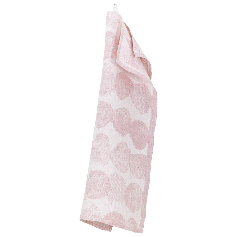 Lapuan Kankurit SADE棉麻萬用擦巾 (玫瑰水玉)