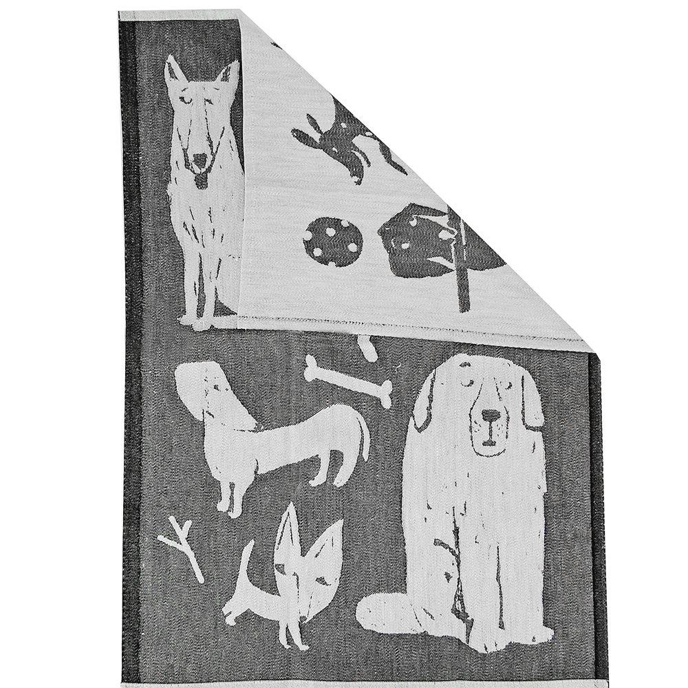 Lapuan Kankurit|狗狗集會棉麻萬用巾