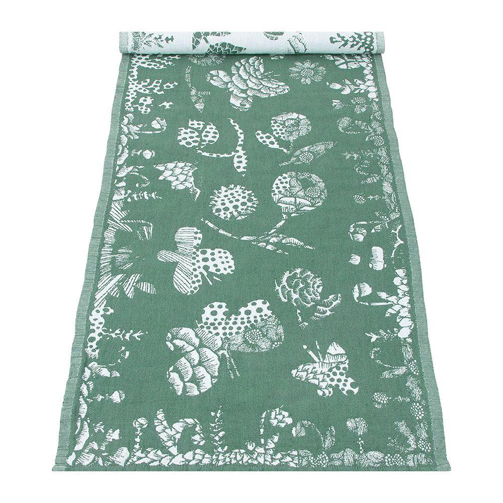 Lapuan Kankurit|AAMOS棉麻長桌巾 (綠)