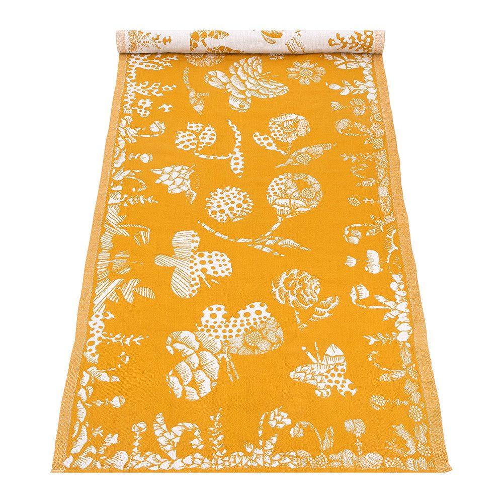 Lapuan Kankurit|AAMOS棉麻長桌巾 (黃)
