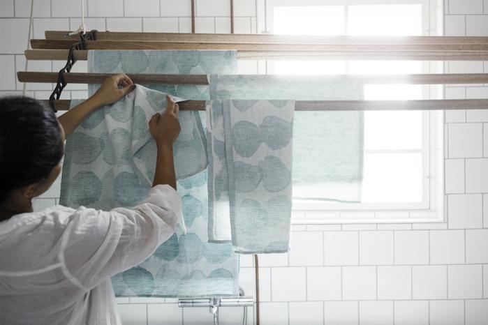 (複製)Lapuan Kankurit  SADE棉麻萬用擦巾 (水玉小點)