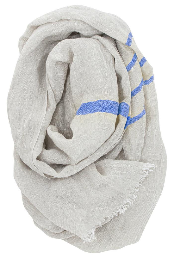 (複製)Lapuan Kankurit|TSVA亞麻薄圍巾 (黃條紋)