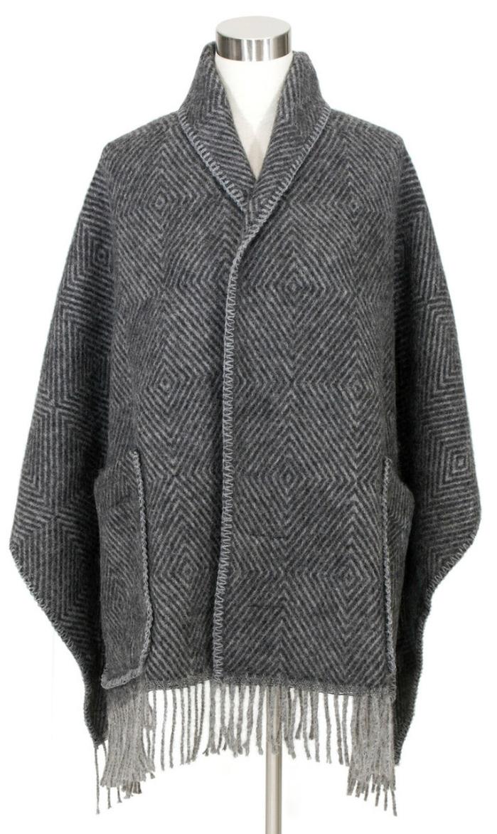 (複製)Lapuan Kankurit|MARIA羊毛口袋披肩 (淺咖啡條紋)
