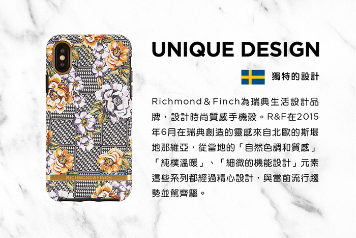 Richmond & Finch│iPhone 6/7/8(4.7吋)千鳥格花紋