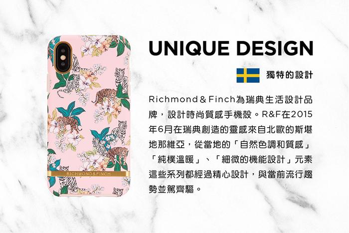 Richmond & Finch│iPhone X/XS粉紅虎