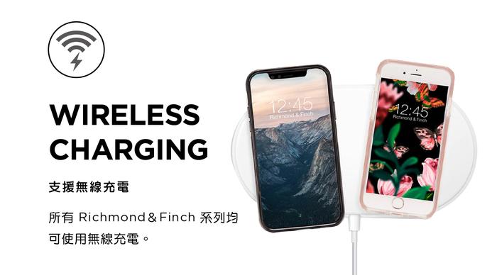 (複製)Richmond & Finch│iPhone XS MAX大理石白 玫瑰金線框手機殼