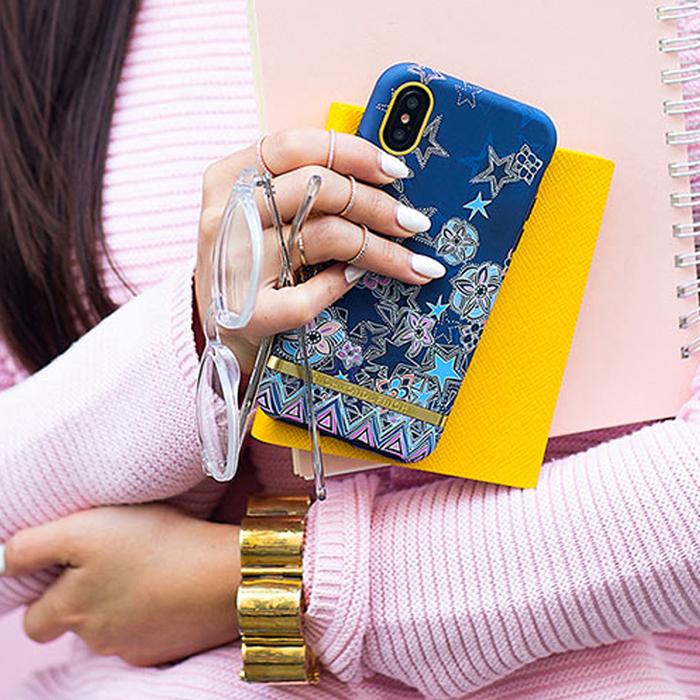 (複製)Richmond & Finch│iPhone 6 PLUS/7 PLUS/8 PLUS (5.5吋)叢林美洲豹金線框手機殼