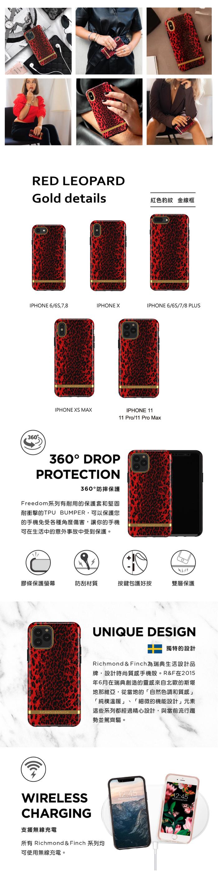 (複製)Richmond & Finch│iPhone 6/7/8(4.7吋)粉紅結 金線框手機殼