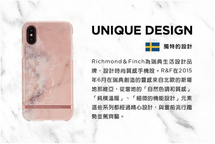 (複製)Richmond & Finch│iPhone 11  大理石黑 銀線框手機殼