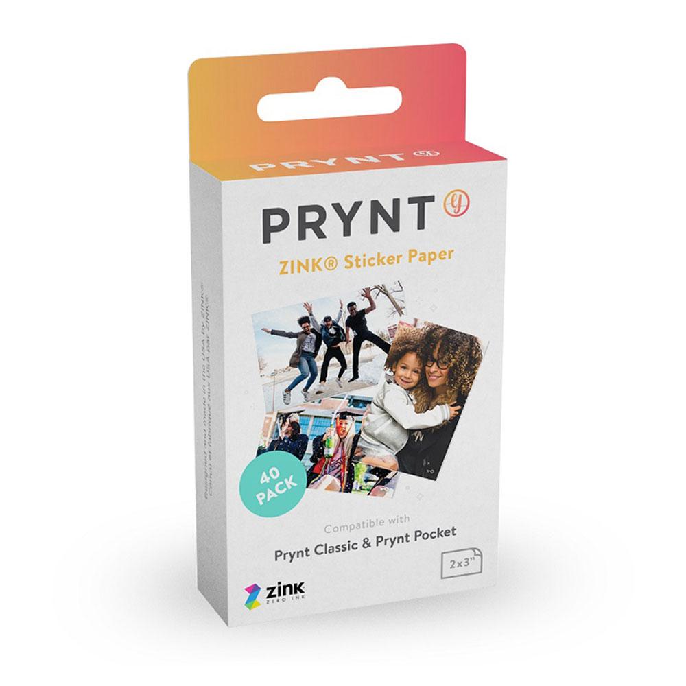PRYNT|Prynt Pocket 之 ZINK 專屬相片貼紙底片40張/盒