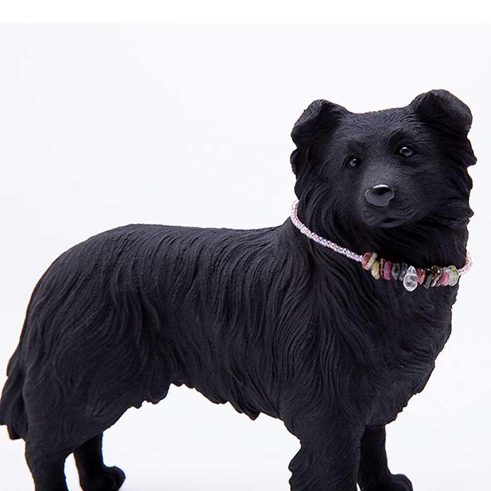 土山炭製作所│紀州備長炭寵物裝飾 - 邊境牧羊犬(S)