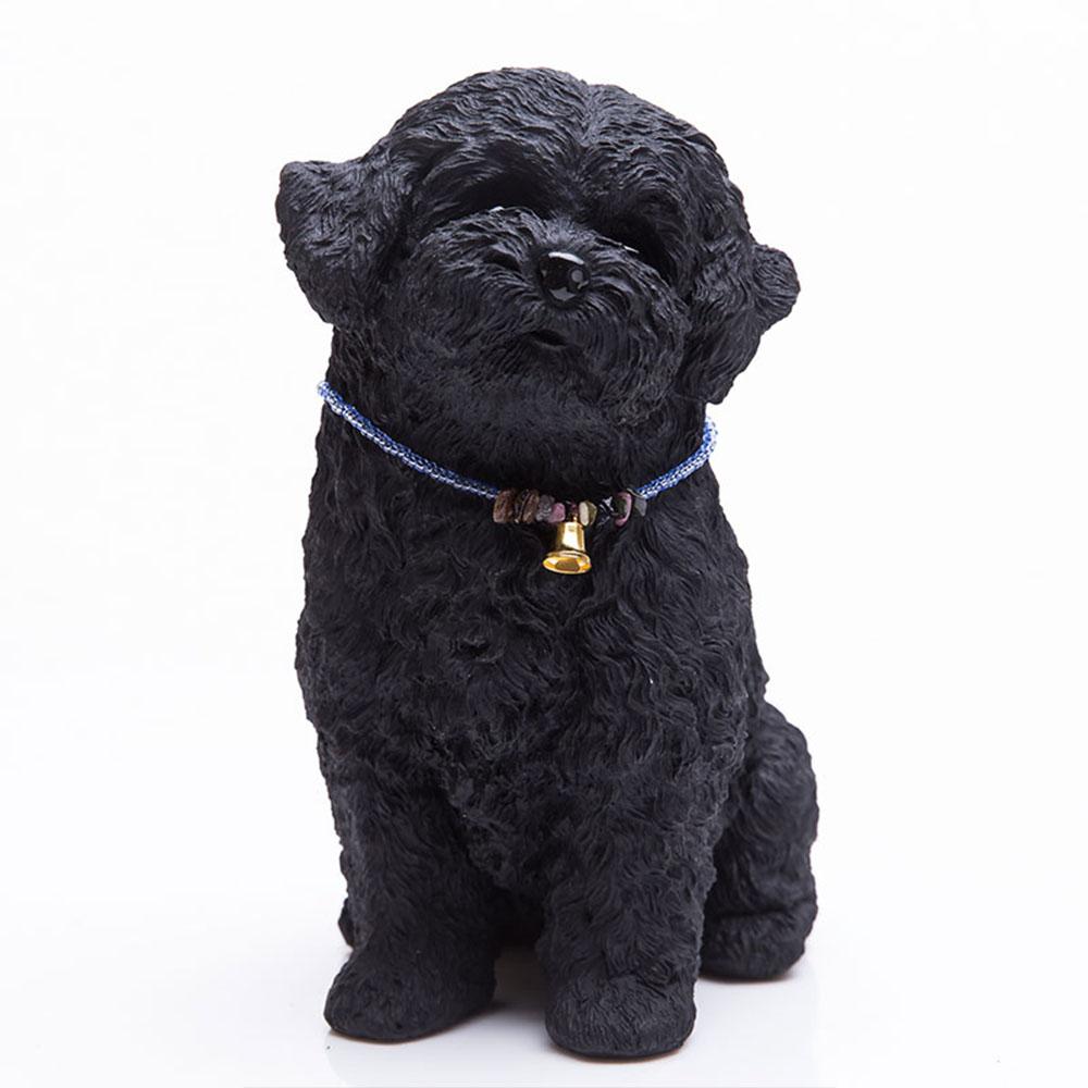 土山炭製作所│紀州備長炭寵物裝飾 - 貴賓幼犬(L)