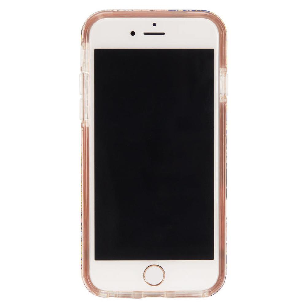 Richmond & Finch│iPhone 6/7/8(4.7吋)春天佩斯利金線框手機殼