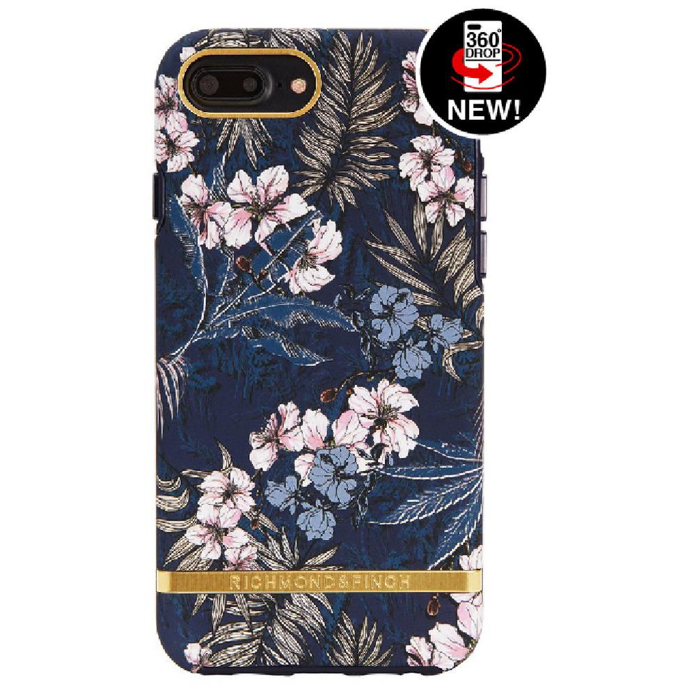 Richmond & Finch│iPhone 6 PLUS/7 PLUS/8 PLUS (5.5吋)花叢林金線框手機殼