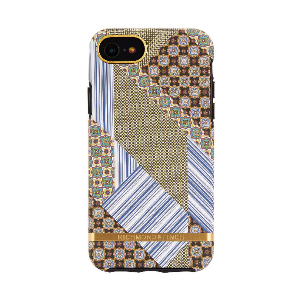 Richmond & Finch│iPhone 6/7/8(4.7吋)西裝領帶金線框手機殼