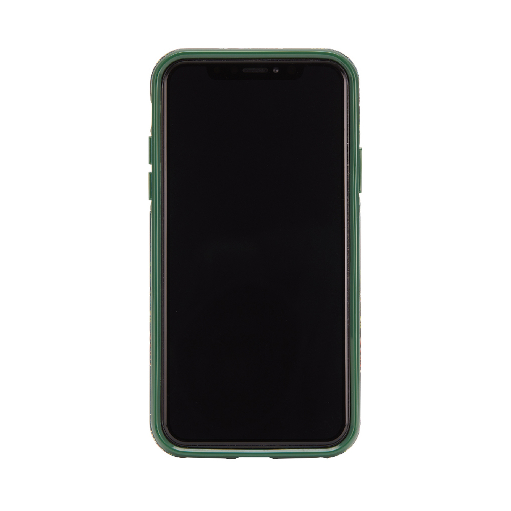 Richmond & Finch│iPhone 6/7/8(4.7吋)翡翠花金線框手機殼