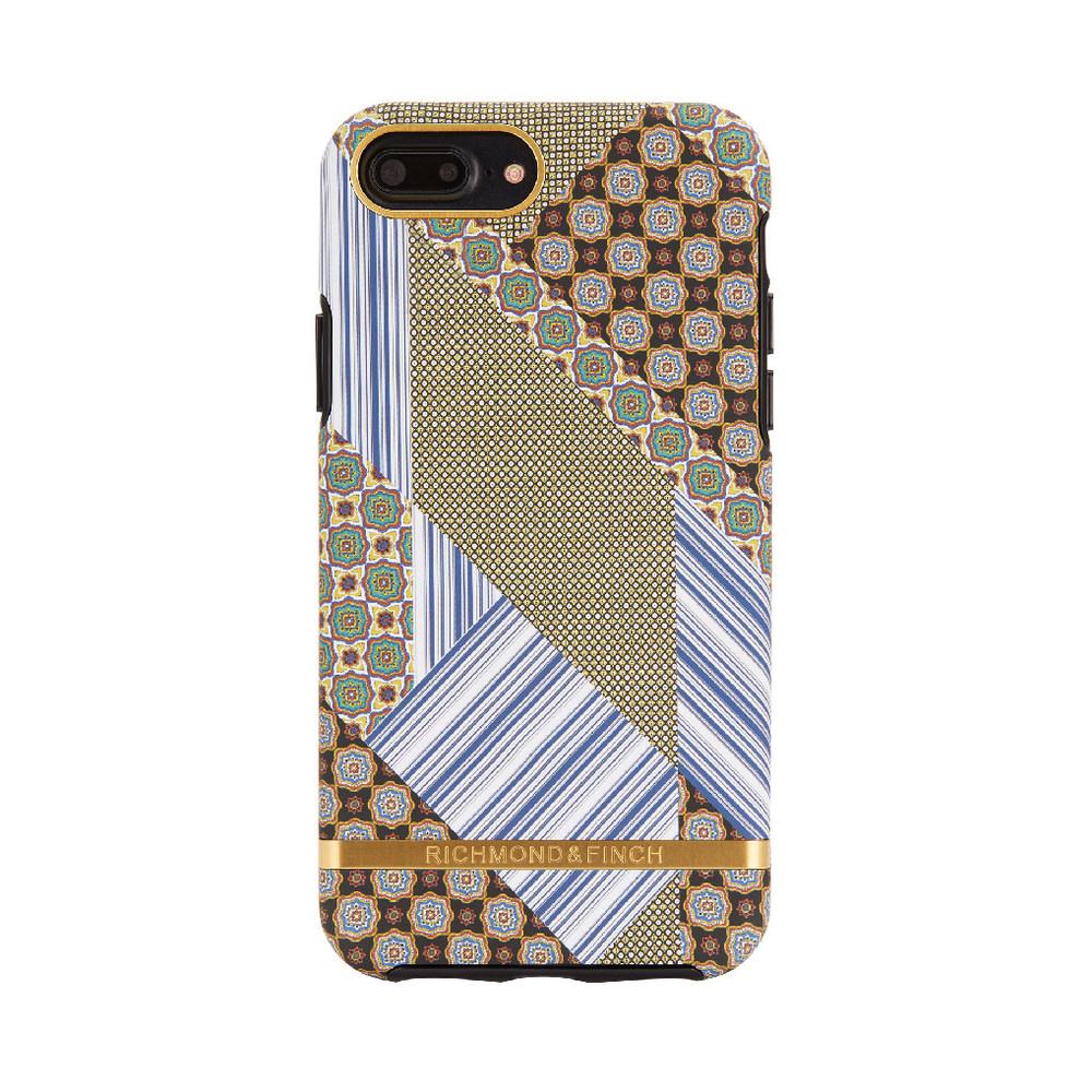 Richmond & Finch│iPhone 6 PLUS/7 PLUS/8 PLUS (5.5吋)西裝領帶金線框手機殼