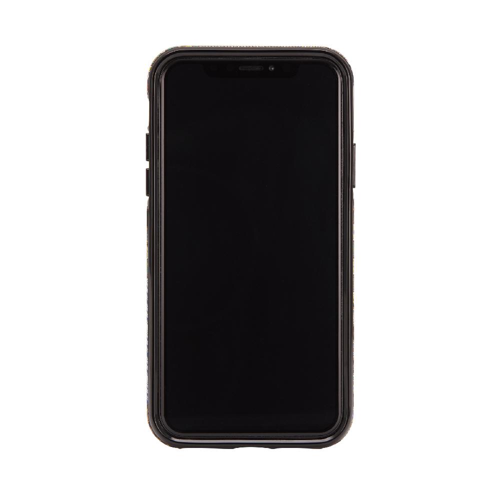 Richmond & Finch│iPhone X/XS西裝領帶金線框手機殼