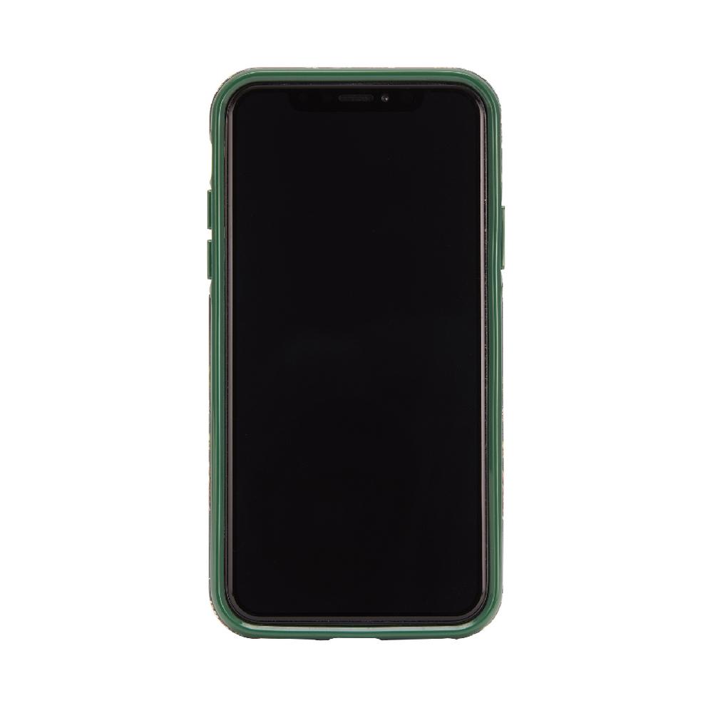 Richmond & Finch│iPhone X/XS翡翠花金線框手機殼