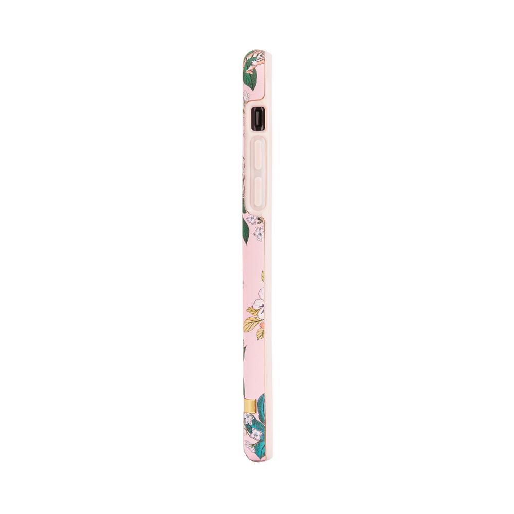 Richmond & Finch│iPhone X/XS粉紅虎金線框手機殼
