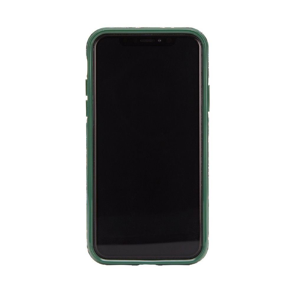 Richmond & Finch│iPhone XR叢林美洲豹金線框手機殼