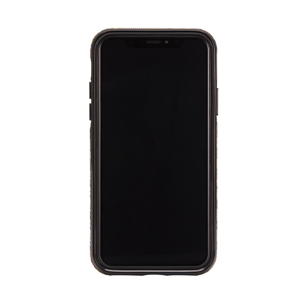Richmond & Finch│iPhone XS MAX西裝領帶金線框手機殼
