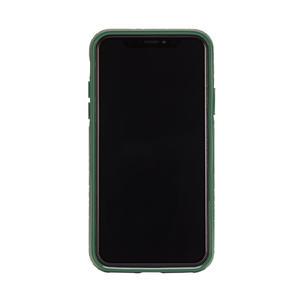 Richmond & Finch│iPhone XS MAX翡翠花金線框手機殼