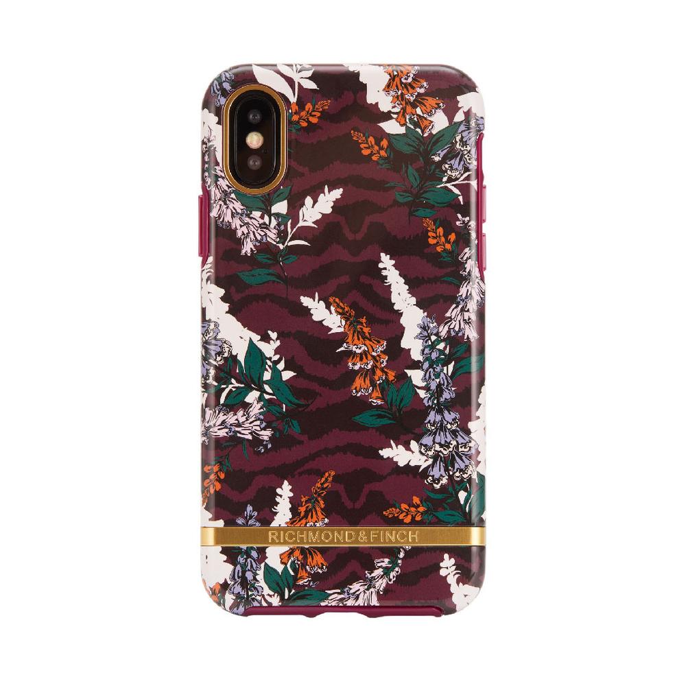 Richmond & Finch│iPhone XS MAX斑馬花紋金線框手機殼