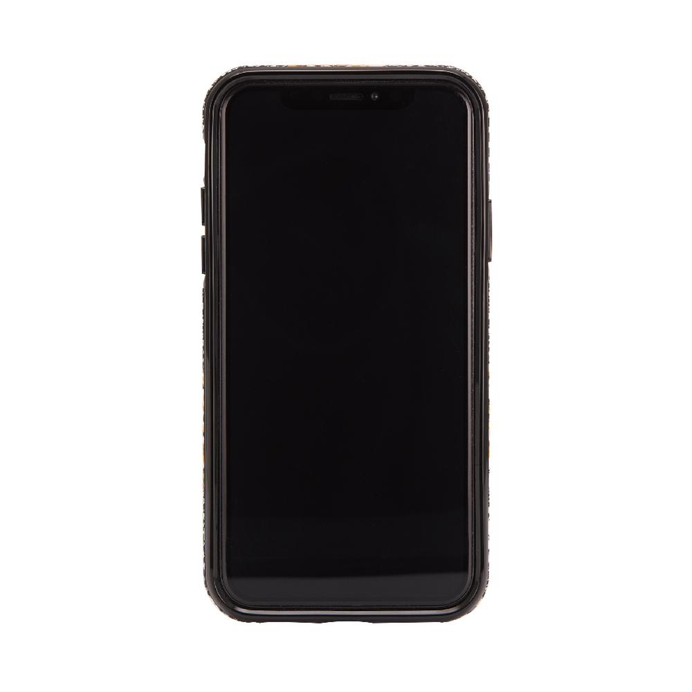 Richmond & Finch│iPhone XS MAX千鳥格花紋金線框手機殼