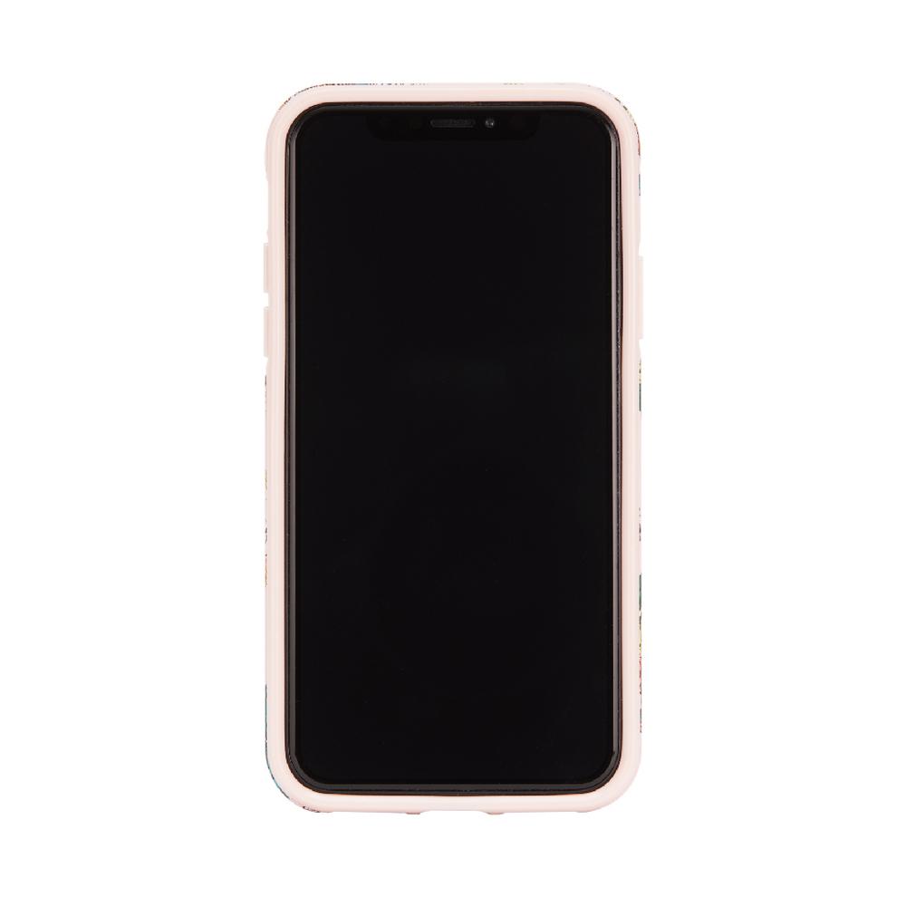 Richmond & Finch│iPhone XS MAX粉紅虎 金線框手機殼