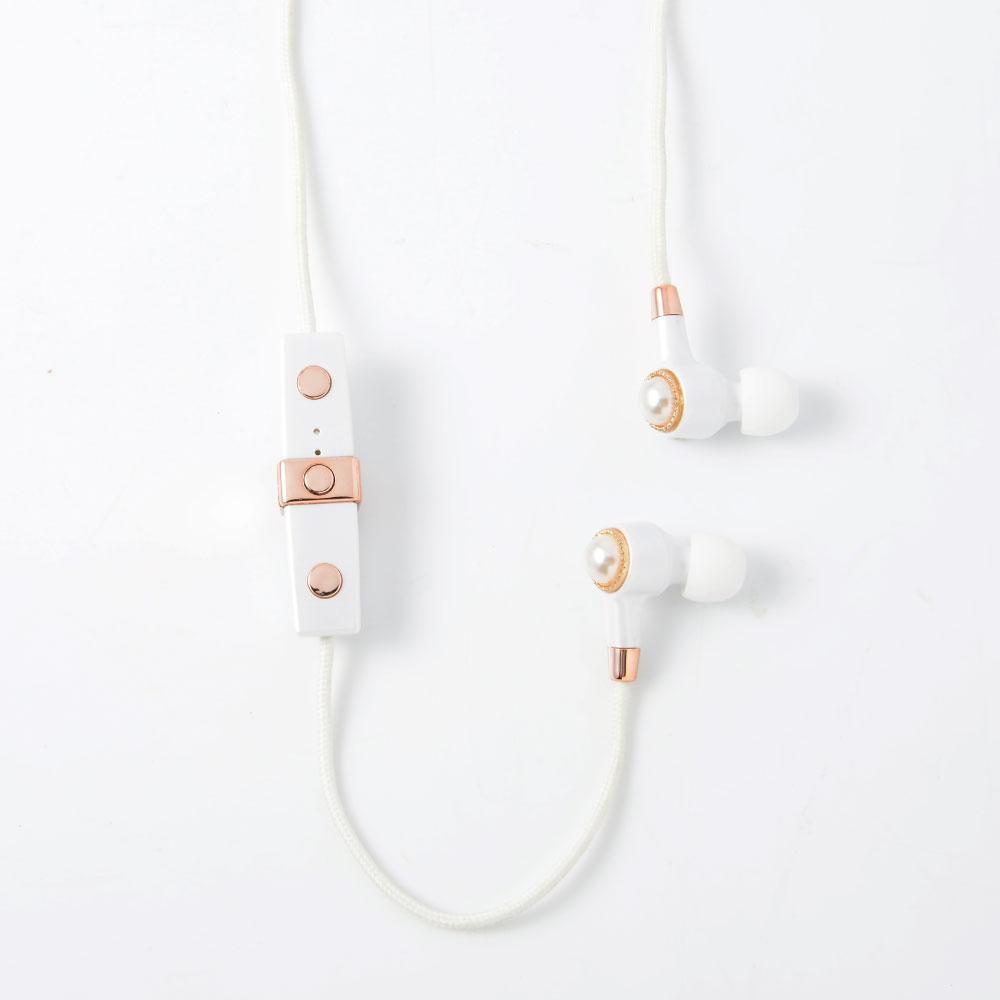 JUSTJAMES│藍芽耳機-珍珠白