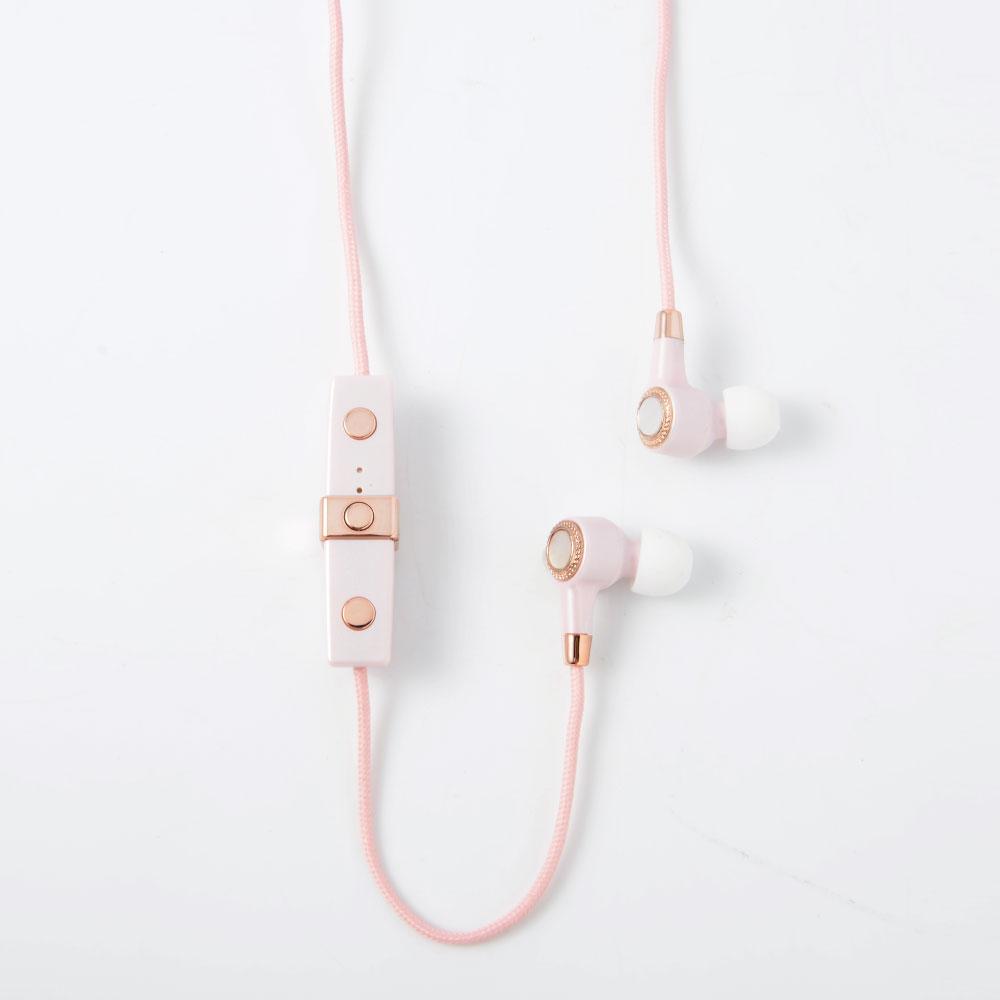 JUSTJAMES│藍芽耳機-櫻花粉