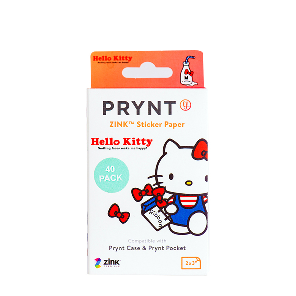 PRYNT Prynt Pocket -hello kitty底片B款專屬相片貼紙底片40張/盒
