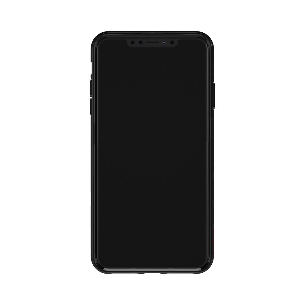 Richmond & Finch│iPhone XR黑色大理石紋茶花 金線框手機殼