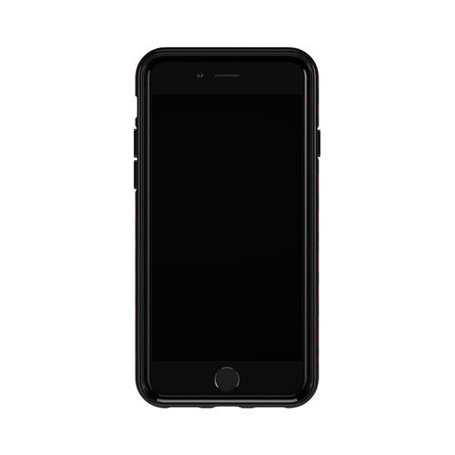 Richmond & Finch│iPhone 6/7/8(4.7吋)紅色豹紋 金線框手機殼
