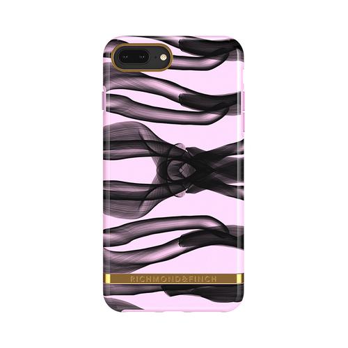 Richmond & Finch│iPhone 6 PLUS/7 PLUS/8 PLUS (5.5吋)粉紅結 金線框手機殼