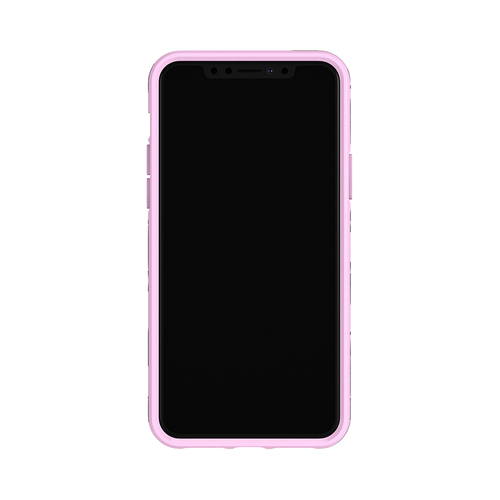 Richmond & Finch│iPhone X/XS粉紅結 金線框手機殼