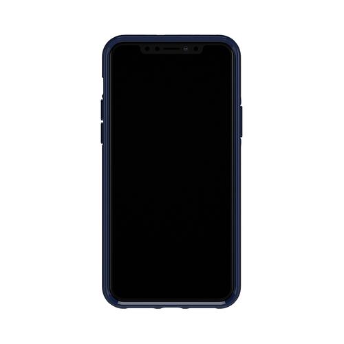 Richmond & Finch│iPhone X/XS海軍條紋 啞光黑線框手機殼
