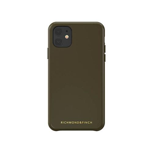 Richmond & Finch│iPhone 11 皮套手機殼-綠色