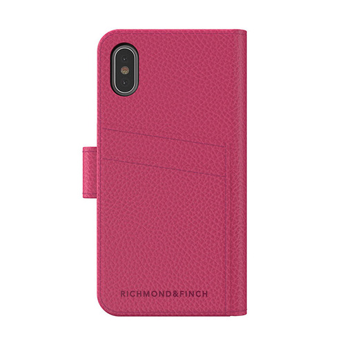 Richmond & Finch│iPhone X/XS皮套手機殼-粉色