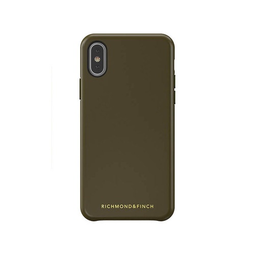 Richmond & Finch│iPhone X/XS 皮套手機殼-綠色