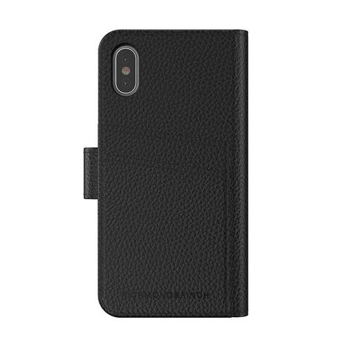 Richmond & Finch│iPhone X/XS 皮套手機殼-黑色