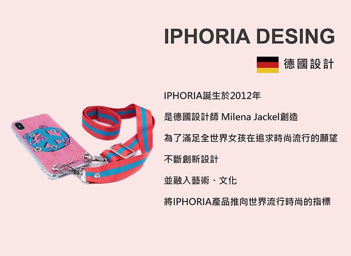 (複製)IPHORIA│ IPhone X/XS - 彩虹愛心卡夾