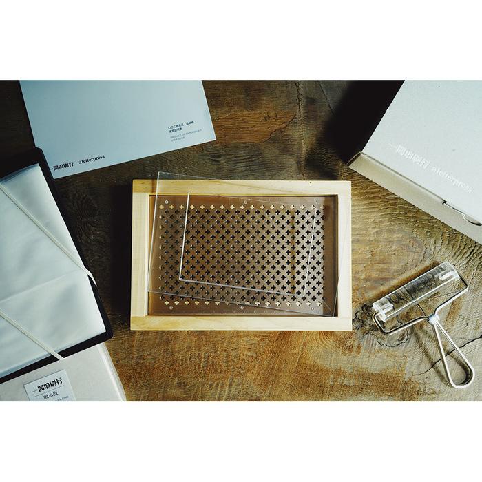 一間印刷行|松木造紙機套組