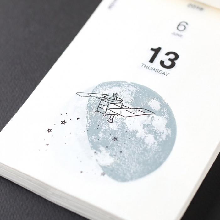 日本曆生活|2019 Sora 宇宙日常日曆