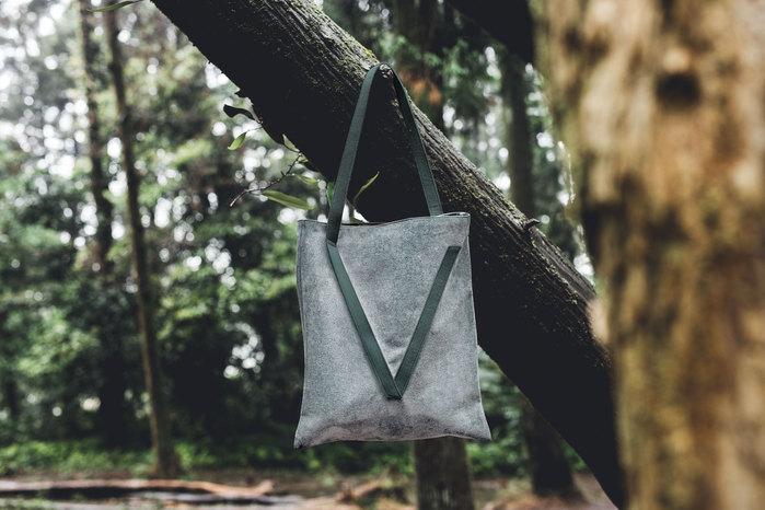 (複製)VOOME V Bag 單肩包_Camouflage系列(棕色)