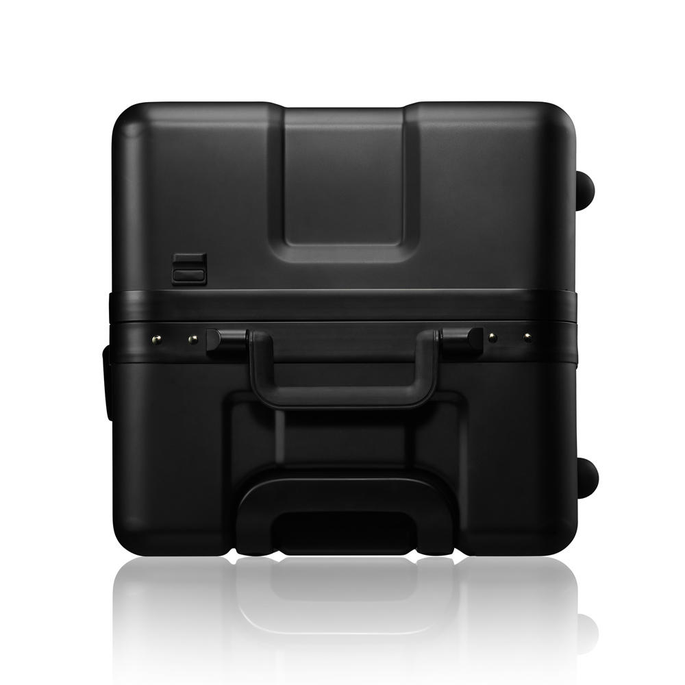 法國OUMOS|Double  BlackS-312 雙層黑S-312旅行箱 -29吋
