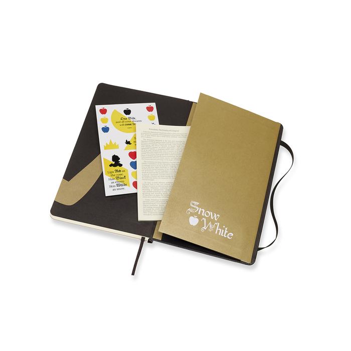 白雪公主限定版筆記本-L型橫線皇冠
